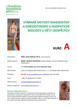 pozvánka - Centrum komplexní péče Dobřichovice, sro