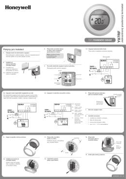 Honeywell ROUND - montážní příručka