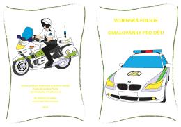 VOJENSKÁ POLICIE OMALOVÁNKY PRO DĚTI