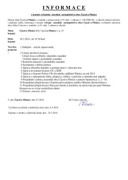 VZ OZ 18_3_2016 - Újezd u Plánice