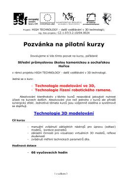 pilotní kurzy 2014