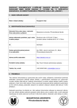 Zadavaci dokumentace Kryogenní mlýn - E