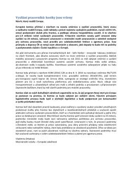 Podrobněji k tématu539.84 KB - Svaz průmyslu a dopravy České