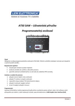 CZ_AT50 SAW - ATOS spol. s ro