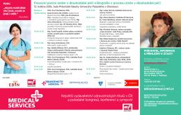 Největší vydavatelství zdravotnických titulů v ČR