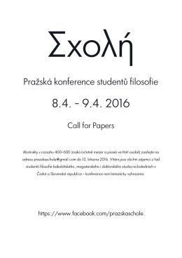 Pražská konference studentů filosofie