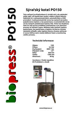 PO150 - biopress