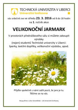 velikonoční jarmark - Univerzitní Knihovna
