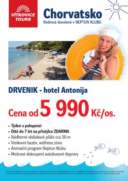 Chorvatsko - Vítkovice Tours