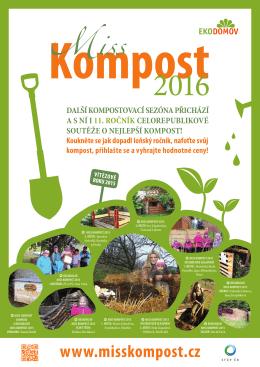 Plakát Miss kompost 2016