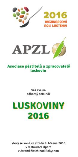 Luskoviny 2016-03-09 Jaroměřice