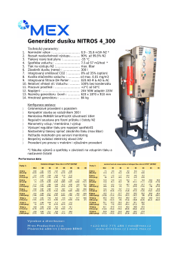 Generátor dusíku NITROS 4_300