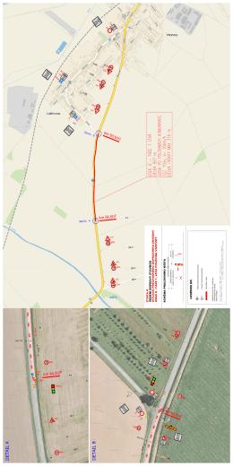 Situace přechodného dopravního značení II. etapa