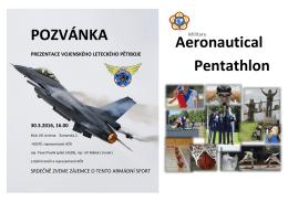 """Prezentace vojenského leteckého pětiboje """"Aeronautical Pentathlon"""""""