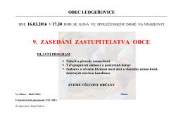 obecní úřad ludgeřovice
