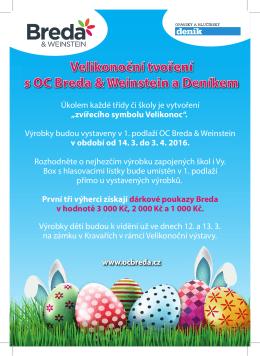 Velikonoční tvoření s OC Breda & Weinstein a Deníkem Velikonoční