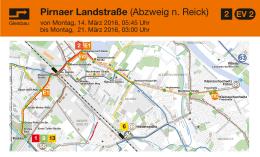 Pirnaer Landstraße (Abzweig n. Reick)