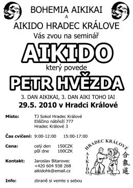 seminář - AIKIDO