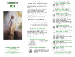 Wielkanoc 2016 - St. Stanislaus Kostka Church