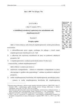 Dz.U. 1997 Nr 123 poz. 776 - Internetowy System Aktów Prawnych