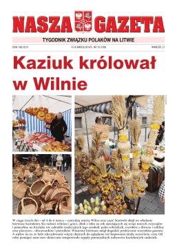 NG 10 - Związek Polaków na Litwie
