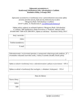 zobacz formularz zgłoszeniowy