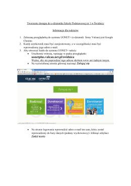 Instrukcja logowania do e-dziennika - SP1