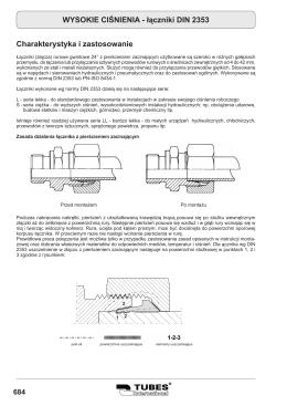 łączniki DIN 2353