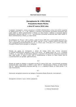 ZPMP nr 1783.2016 z dnia 07.03 - Urząd Miasta Płocka