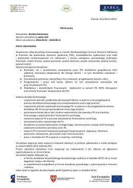 Oferta pracy_doradca biznesowy OWES