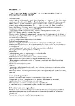 PROCEDURA IV
