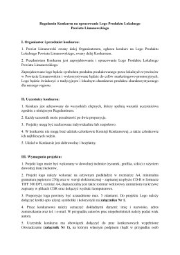Regulamin - Powiat Limanowa