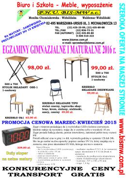matura 2016 - BIS-MW