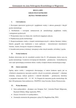 Gimnazjum im. Jana Dobrogosta Krasińskiego w Węgrowie