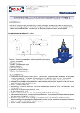 Z1B-M -2015PL Zawory kotlow energetycznych ZMB1.indd