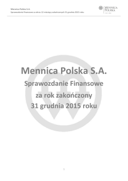 Mennica Polska SA
