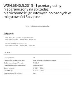 Wersja PDF - BIP Grodzisk Mazowiecki