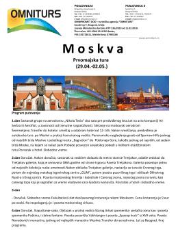 Moskva - Omni Turs
