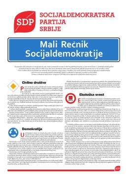 Rečnik Socijaldemokratije