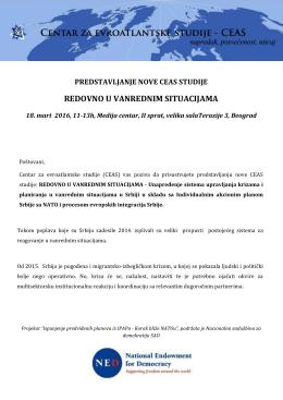 Pozivno pismo - Medija centar Beograd