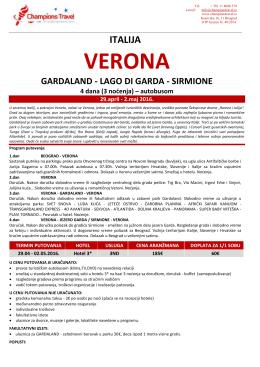 Verona Gardaland 29.04.