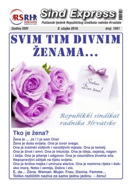 Sindexpress 1091 - Pošta 08.03.2016.g.