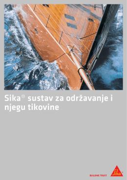 Sika® sustav za održavanje i njegu tikovine