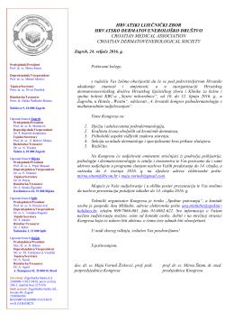 poziv za sudjelovanje - Hrvatsko psihijatrijsko društvo