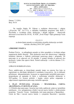 """Katolički školski centar """"Sv. Franjo"""" Tuzla"""