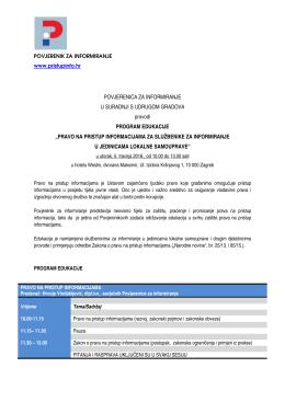 ZPPI program 5.4 - Udruga gradova