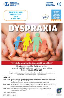 Poster EDL 2016 - Hrvatsko logopedsko društvo, HLD