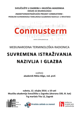 Conmusterm-plakat i program
