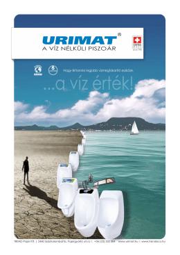 URIMAT | A víz nélküli piszoár - TREND