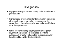 Diyagnostik - Personel Web Sistemi